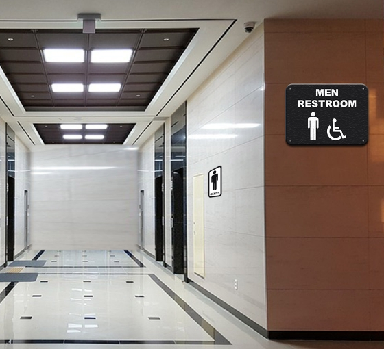 Men/Boy Restroom Signs