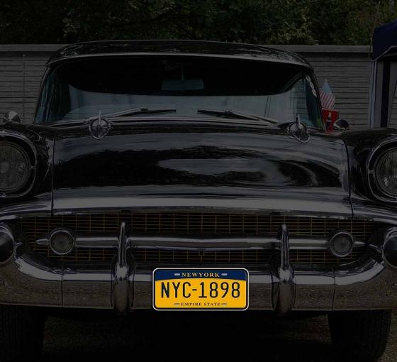 Reflective New York License Plates
