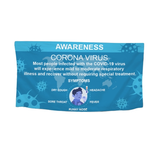 Polyester Fabric Awareness Banners