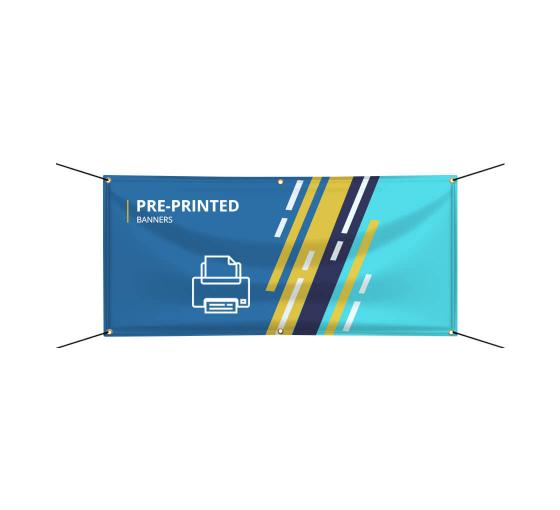 Pre Printed Banners Vinyl Banner Printing Bannerbuzz
