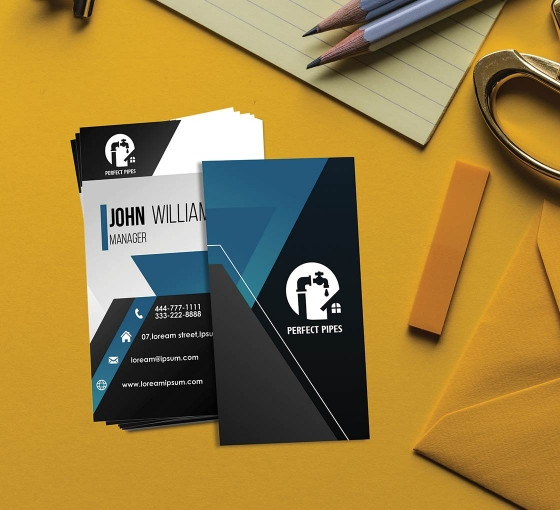 Premium Business Cards-Vertical