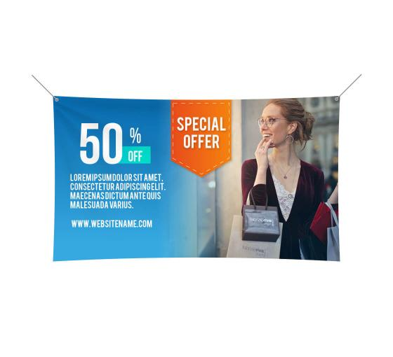 Custom Cloth Banners | Custom Fabric Banner Printing