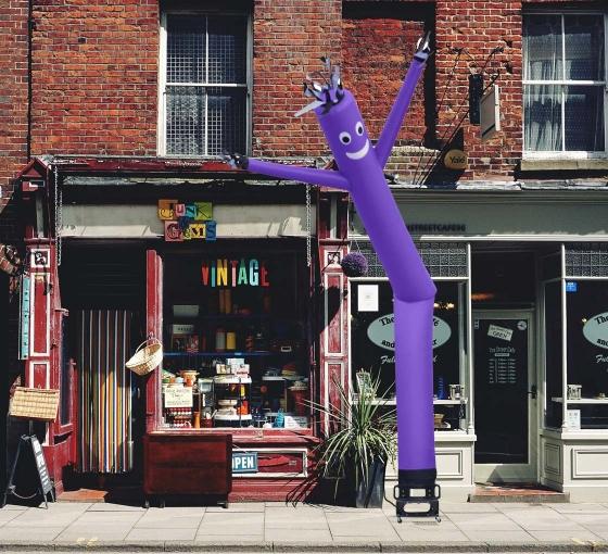 Purple Inflatable Tube Man