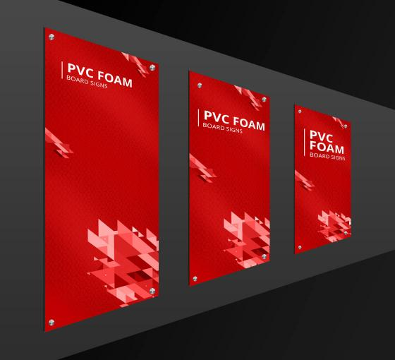 HIP Reflective PVC Foam Board Signs