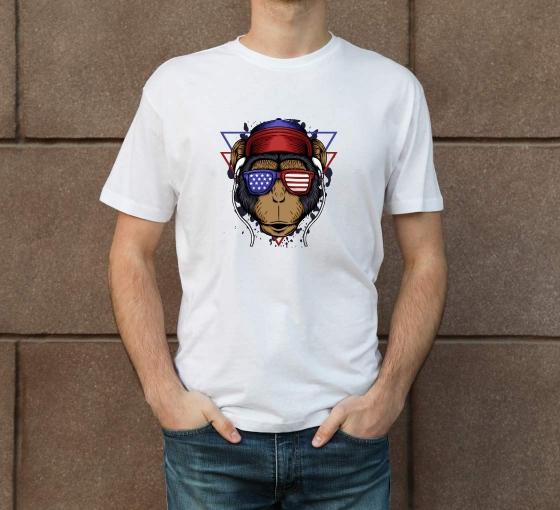 Custom Printed T-Shirt - Crew Neck