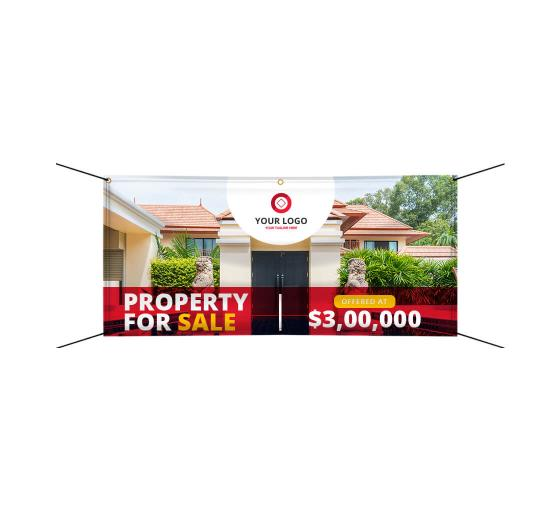 Real Estate Banners Custom Real Estate Signs Bannerbuzz
