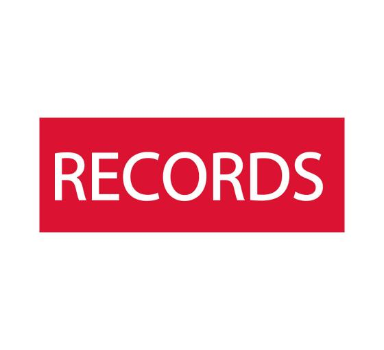 Records Sign