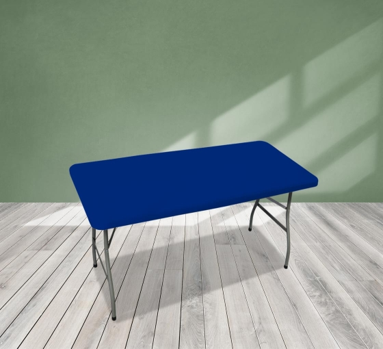 4' Rectangle Table Toppers - Blue