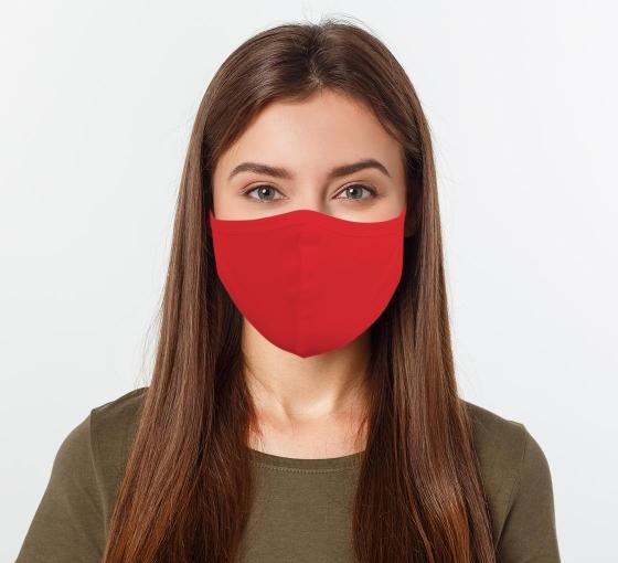 Red Face Masks