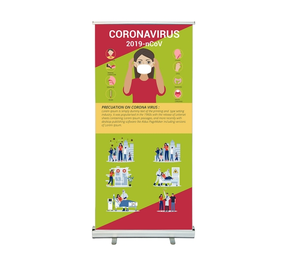 Safety Roll Up Banner Stands