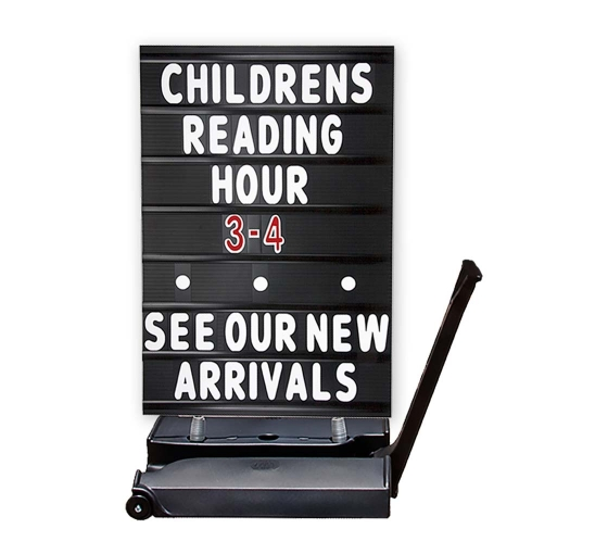 Rolling Springer Message Board Black