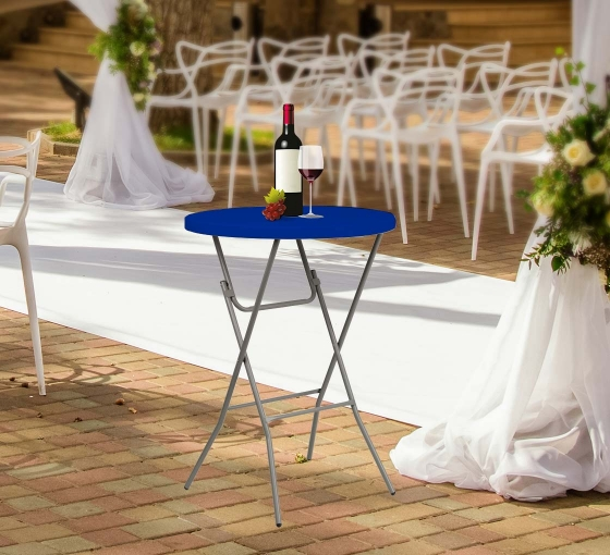 """31.5"""" Round Table Toppers - Blue"""