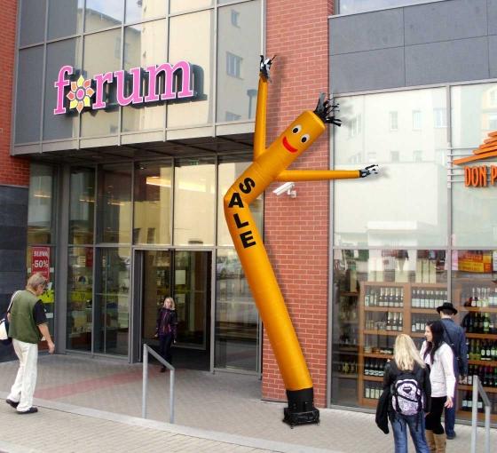 Sale Inflatable Tube Man Yellow