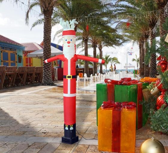 Santa Christmas Inflatable Tube Man