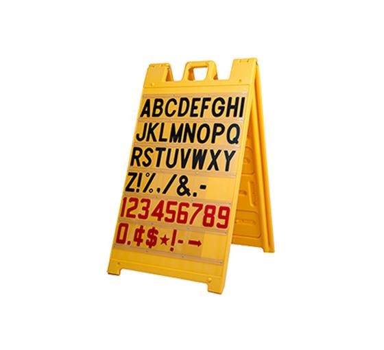 Signicade Yellow Message Board