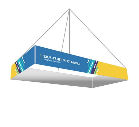Sky Tube Rectangle Hanging Banners