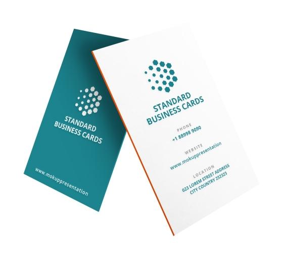 Standard Business Cards - Vertical