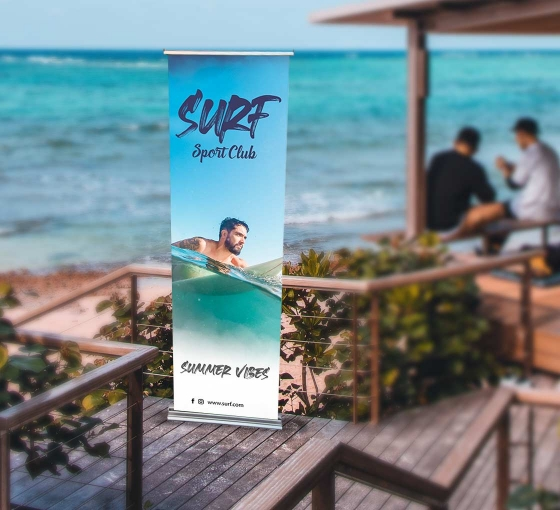 Steppy Retractable Banner Stands