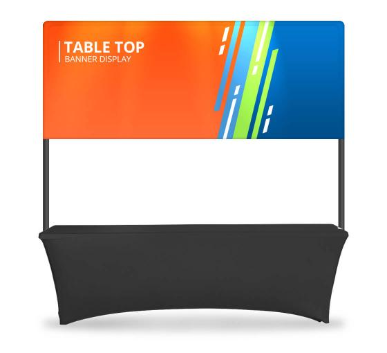 Table Top Banner - Half Display