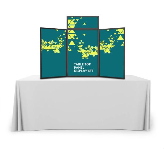 Table Top Panel Display 6 ft