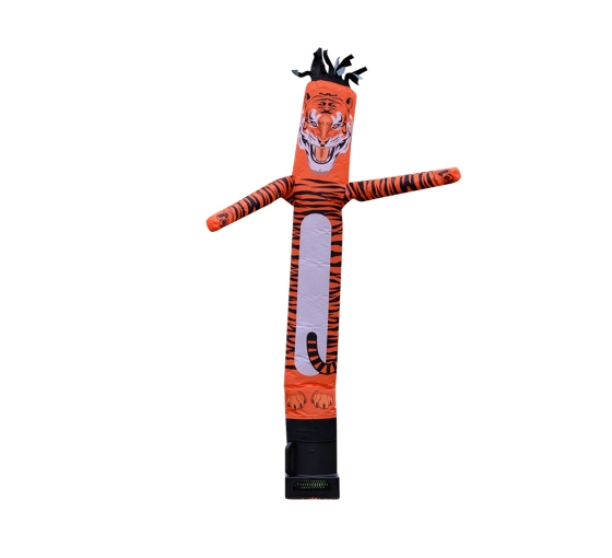 Tiger Inflatable Tube Man Mascot