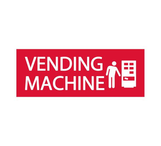Vending Machine Sign