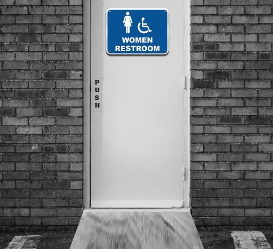 Women/Girl Restroom Signs