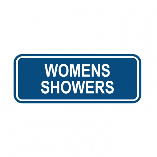 Women's Shower Sign