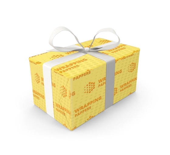 Wrapping paper, for custom gift wrapping and branded packaging