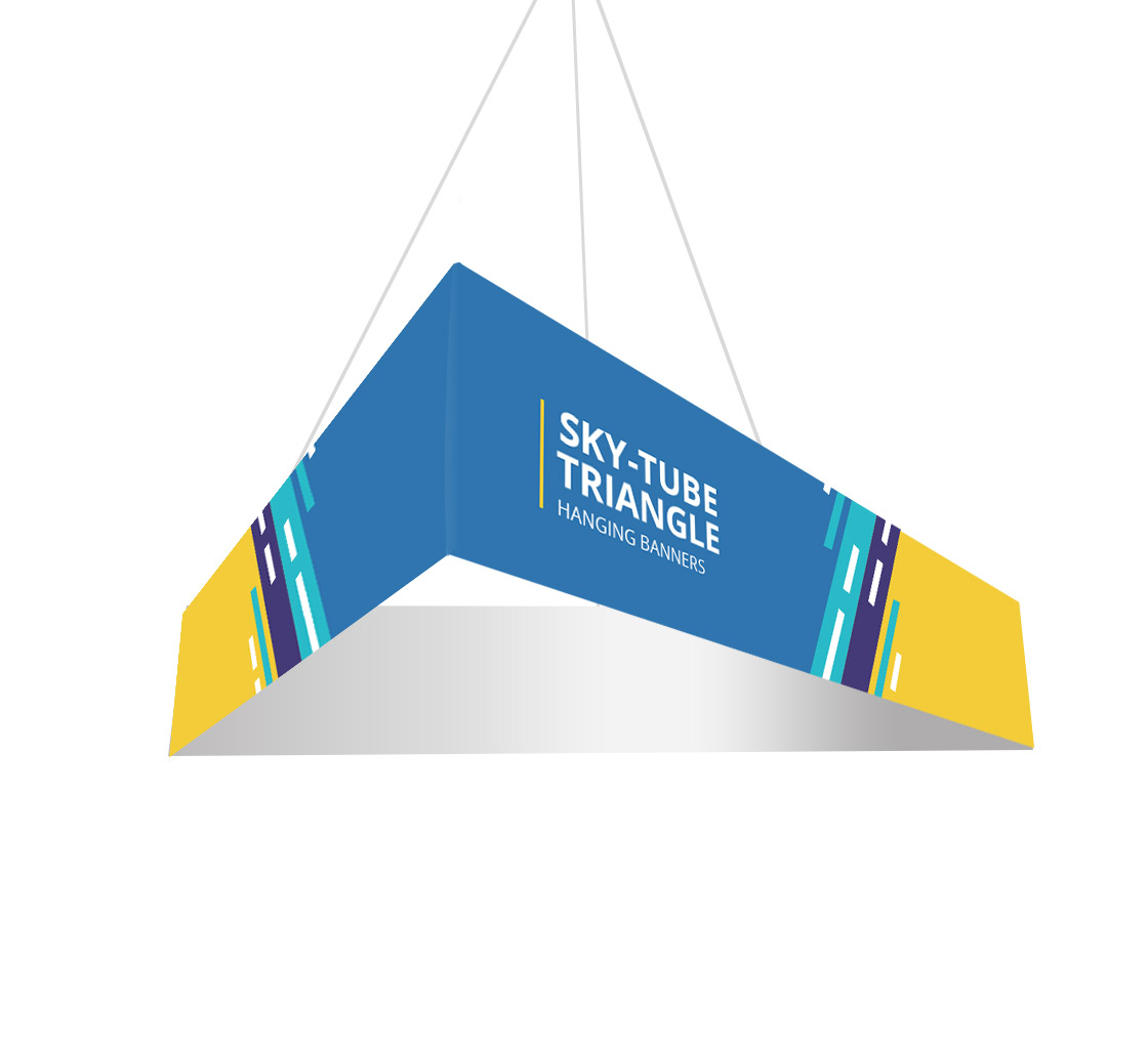 Hardware /& Graphic Triangle 60 in Outside Graphic Package Personalized Hanging Banner 10 ft