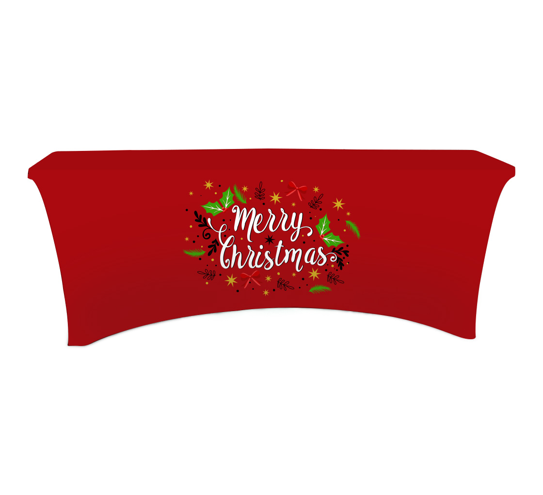 Stretch Table Covers Ed Logo Cover