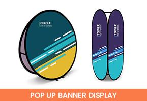 Pop-Up Banner Displays